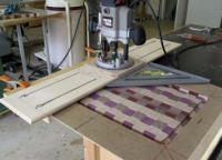 Cutting Board Gouge and Flattener