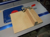 Router Table Tenoning Sled