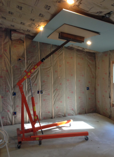 Homemade Drywall Lift Homemadetools Net
