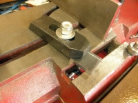 Bandsaw Hold Down Modification