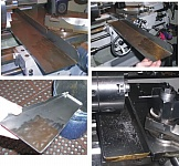 Lathe Chip Tray