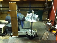 Turbocharger Reassembly Fixture