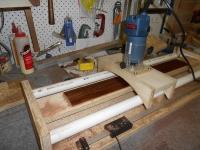 homemade fingerboard radius jig. Black Bedroom Furniture Sets. Home Design Ideas
