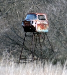 Pickup Cab Deer Blind