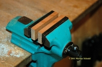 Wooden Vise Jaws