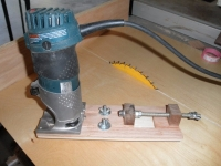 Router Circle Cutter Jig