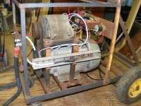 Frame-Mounted TIG Welder