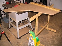 Crosscut Sled and Sawhorse
