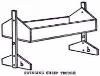 Swinging Feed Trough