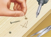 Wood Screw Lubrication Method