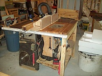 Contractor to Table Saw Mod