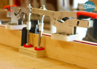 Table Saw Sled with Toggle Clamps