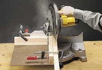 Wide-Angle Miter Saw Jig