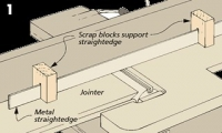 Straightedge Support Blocks