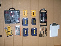 Wall-Mounted Tool Boxes