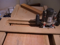 Router Thicknessing Jig