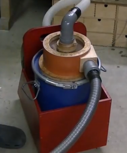 Homemade Cyclone Dust Collector