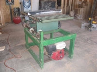 Gasoline Powered Table Saw
