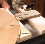 Bandsaw Template Guide