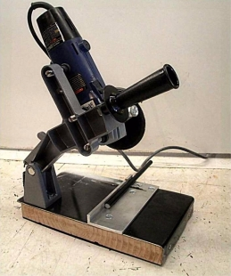 Homemade Grinder To Chop Saw Conversion Homemadetools Net