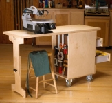 Workbench and Shop Cart