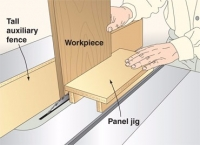 Raised Panel Pushing Jig
