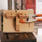 Pen Blank Drilling Jig