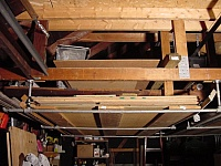 Hanging Plywood Storage