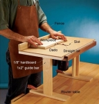 Router Table Sliding Top