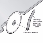 Table Saw Arbor Wrench