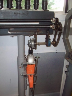 Build Your Own Ford >> Homemade Bead Roller Drive - HomemadeTools.net