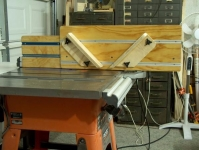 Vertical Table Saw Sled
