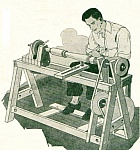 Treadle Woodturning Lathe