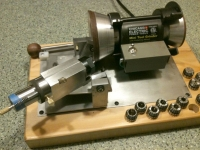 Motorized 4-Facet Bit Sharpener