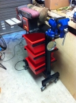 Vise and Grinder Stand