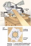 Miter Saw Swivel Base