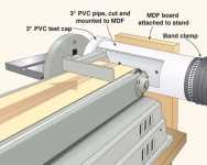 Belt Sander Dust Collector