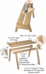 Split-Top Sawhorse