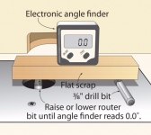 Router Bit Height Indicator