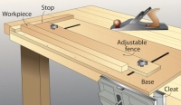 Adjustable Benchtop Holding Jig