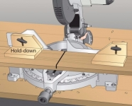 Miter Saw Hold Downs