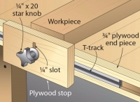Workbench End Stop
