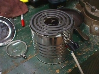 Coffee Can Stove