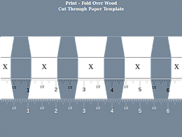 picture about Printable Dovetail Template identify Home made Dovetail Template Generator -