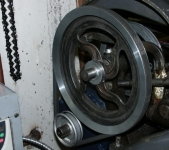 Lathe Pulley Modificationn
