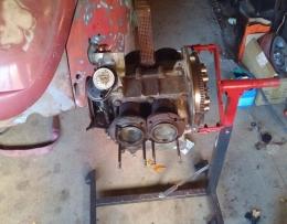 Homemade VW Engine Stand - HomemadeTools.net