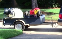 Pressure Washing Trailer