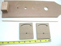 Tight Radius Arched Slot Jig