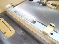 Table Saw Auxiliary Fence