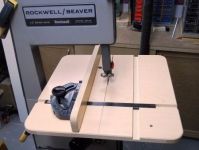 Bandsaw Table and Fence